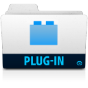 128x128px size png icon of plugin folder