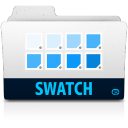 128x128px size png icon of swatch folder