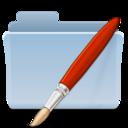 128x128px size png icon of Bitmaps Folder