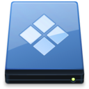 128x128px size png icon of BootCamp Disk xp