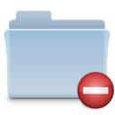 128x128px size png icon of Private Folder Tiger