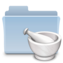 128x128px size png icon of Recipes Folder