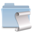 Scripts Folder Badged Icon