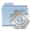 128x128px size png icon of Smart Folder Badged alt