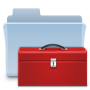 128x128px size png icon of Toolbox Folder
