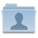 128x128px size png icon of User Folder