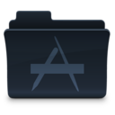 128x128px size png icon of Applications Folder