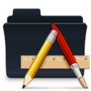 128x128px size png icon of Apps Folder Badged