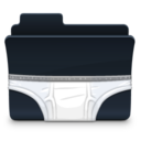 128x128px size png icon of Briefs Folder
