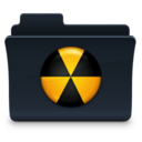 Burn Folder Badged Icon