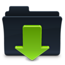 128x128px size png icon of Downloads Folde