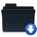 128x128px size png icon of Drops Folder Tiger