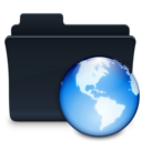 128x128px size png icon of Network Folder