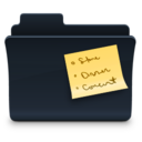 Notes Folder Badged Icon