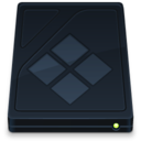 128x128px size png icon of Onyx BootCamp Drive