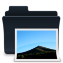 Pictures Folder Alt Badged Icon
