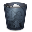 Trash Full Onyx Icon