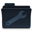 128x128px size png icon of Utilities Folder