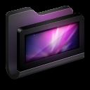128x128px size png icon of Desktop Black Folder
