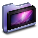 128x128px size png icon of Desktop Blue Folder