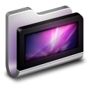128x128px size png icon of Desktop Metal Folder