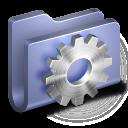 128x128px size png icon of Developer Blue Folder