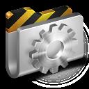 128x128px size png icon of Developer Metal 2 Folder