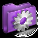 128x128px size png icon of Developer Purple Folder