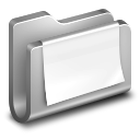 128x128px size png icon of Documents Metal Folder