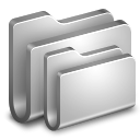 128x128px size png icon of Folders Metal Folder