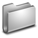 128x128px size png icon of Generic Metal Folder