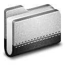 128x128px size png icon of Llibrary Metal Folder