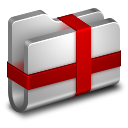128x128px size png icon of Package Metal Folder