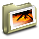128x128px size png icon of Photos Folder