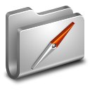128x128px size png icon of Sites Metal Folder