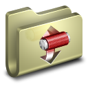 128x128px size png icon of Torrents Folder