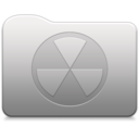 Aluminum folder   Burn Icon