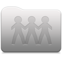 128x128px size png icon of Aluminum folder   GenericSharePoint