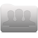 128x128px size png icon of Aluminum folder   Group