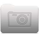 128x128px size png icon of Aluminum folder   Pictures