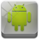 128x128px size png icon of android