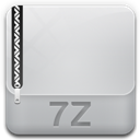 128x128px size png icon of archive 7z