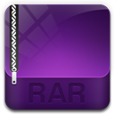 128x128px size png icon of archive rar