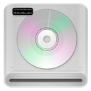 128x128px size png icon of cd rom drive