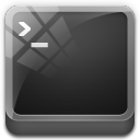 128x128px size png icon of cmd