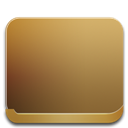 128x128px size png icon of folder back
