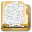 128x128px size png icon of folder documents 2