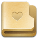 128x128px size png icon of folder favourites