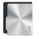128x128px size png icon of Adobe