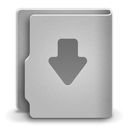 128x128px size png icon of Download alt 2